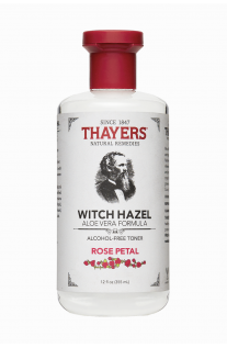 Thayers, Rose Petal Witch Hazel, with Aloe Vera Formula, Alcohol-Free Toner, 12 fl oz (355 ml)