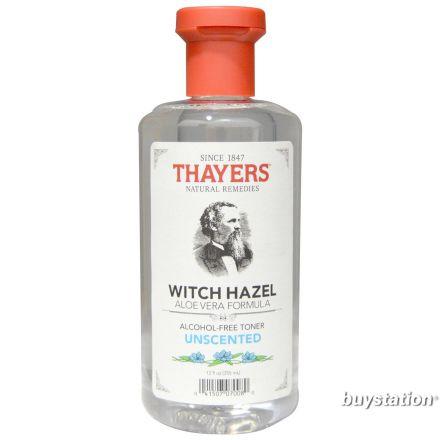 Thayers, Alcohol Free Unscented Witch Hazel Toner with Aloe Vera, 12 fl oz (355 ml)