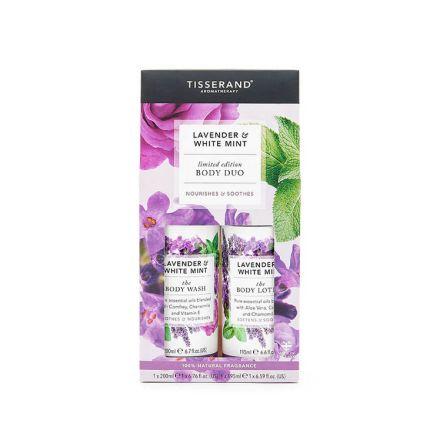 Tisserand Aromatherapy, 薰衣草+白薄荷身體護理二重奏