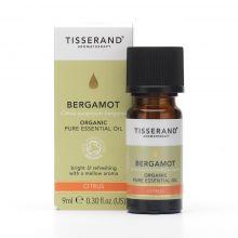 Tisserand Aromatherapy, Bergamot Organic Essential Oil, 9ml