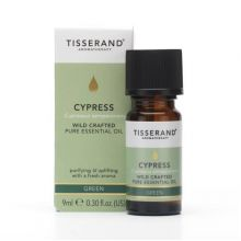 Tisserand Aromatherapy, Cypress Wild Crafted Pure Essential Oil, 9ml