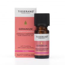 Tisserand Aromatherapy, Geranium Ethically Harvested Pure Essential Oil, 9ml