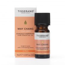 Tisserand Aromatherapy, May Chang Ethically Harvested Pure Essential Oil, 9ml