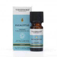 Tisserand Aromatherapy, Eucalyptus Organic Pure Essential Oil, 9ml