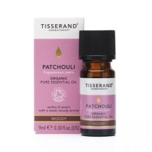 Tisserand Aromatherapy, Patchouli Organic Pure Essential Oil, 9ml