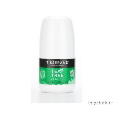 Tisserand Aromatherapy, 茶樹+蘆薈止汗劑 50ml