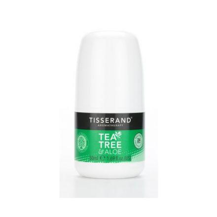 Tisserand Aromatherapy, 茶树+芦荟止汗剂 50ml