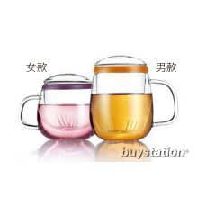 Vatiri Val&Cherie handmade glass teacup with infuser