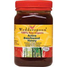 Wedderspoon Organic, 100%原生有機櫸木蜂蜜, 17.6 oz (500g)