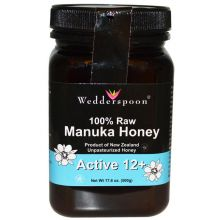 Wedderspoon, 100% Raw Manuka Honey Active 12, 17.6 oz ( 500 g)