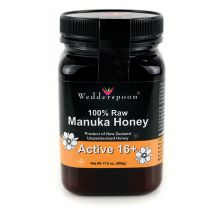 Wedderspoon, 100% Raw Manuka Honey Active 16, 17.6 oz (500 g)