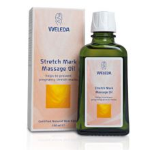 Weleda, Stretch Mark Massage Oil, 100 ml