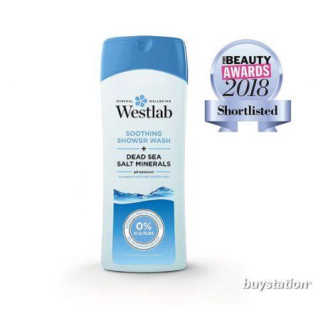 Westlab, 死海鹽舒緩沐浴露, 400ml