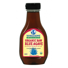 Wholesome Sweeteners, Inc., Organic Raw Blue Agave, Amber, 11.75 oz (333 g)