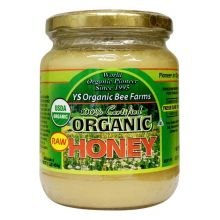 Y.S. Organic Bee Farm, 100% Certified Organic Raw Honey, 1.0 lbs (454 g)
