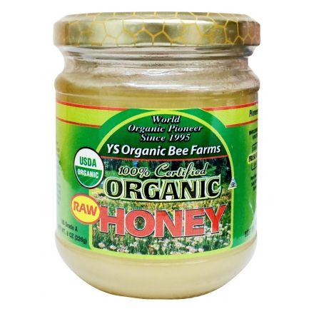 Y.S. Organic Bee Farm, 100% Certified Organic Raw Honey, 8oz (226 g)