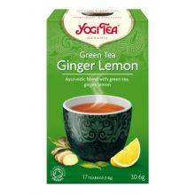 Yogi Tea 有機綠茶檸檬姜茶 (17小包裝)