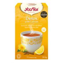 Yogi Tea 有機檸檬排毒茶 (17小包裝)