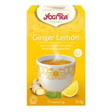 Yogi Tea Ginger Lemon Organic 17 Bags