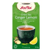 Yogi Tea Green Tea Ginger Lemon Organic 17 Bags