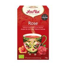 Yogi Tea 有機玫瑰茶 (17小包裝)