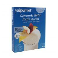Yogourmet Freeze-Dried Kefir Starter 1oz  (1 Box / 6 Packs)