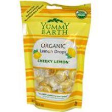 Yummy Earth, Organic Lemon Drops, Cheeky Lemon, 3.3 oz (93.5g)