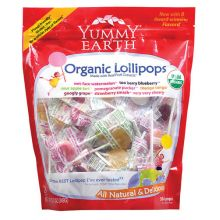 Yummy Earth, Lollipops, Assorted Flavors, 12.3 oz (349g)