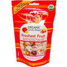 Yummy Earth, Organic Candy Drops, Freshest Fruit, 3.3 oz (93.5g)