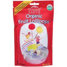 Yummy Earth, Organic Fruit Lollipops, 3 oz (85g)