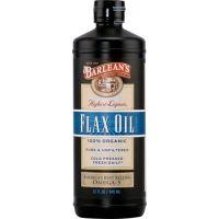 Barlean's 有機木酚素亞麻籽油 32 fl oz (946 ml)