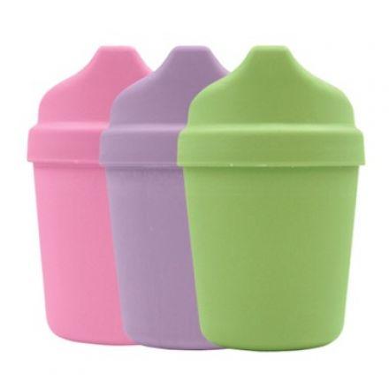 iplay 綠芽系列 - 旅行杯套裝 (3隻) - 女孩