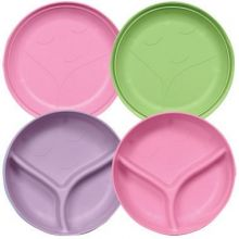 iplay Sprout Ware Plate and Bowl Set 2pk - Girl