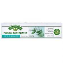 Nature's Gate, Natural Toothpaste, Crème de Peppermint, Fluoride-Free, 6 oz (170 g)