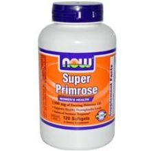 NOW Foods, Super Primrose - 1300 mg, 120 Softgels